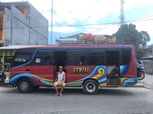 Lokale bus Indonesië