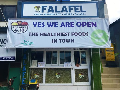Restaurants Coron: Falafel 4.13 Coron