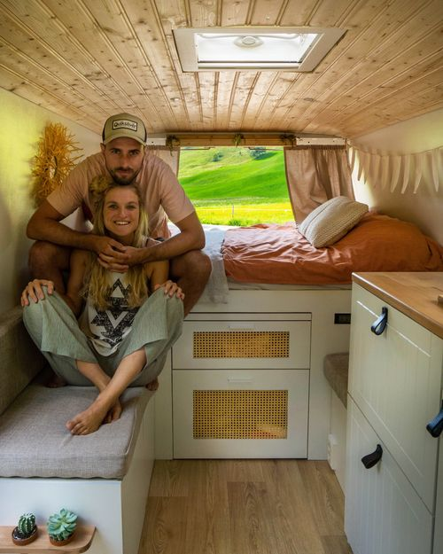 Inrichting camper