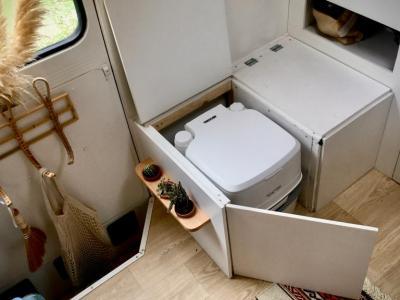 Beste Toilet Camper: Chemisch of Compost