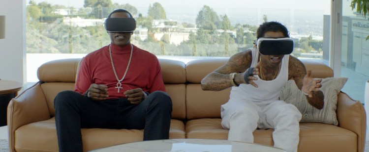 Must See: Hilarious Samsung Gear VR Commercial Starring Lil Wayne