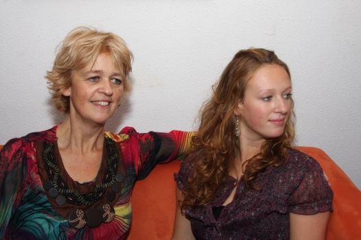 Moeder en dochter.