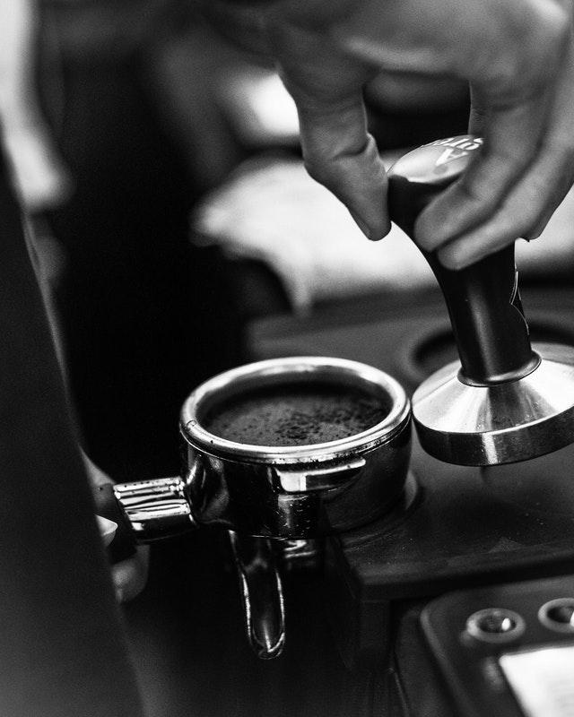 espresso machine tamper