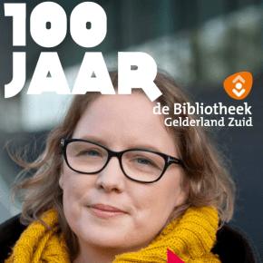 Katja Linders ambassadeur van de bibliotheek
