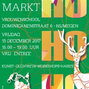 Kom naar de kerstmarkt op 15 december!