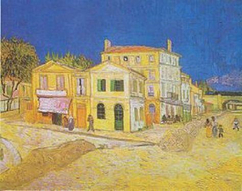 Van Gogh, Het gele huis, Arles