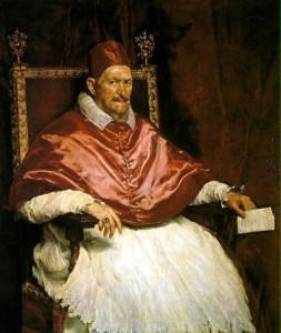 Velázquez - Paus Innocentius X
