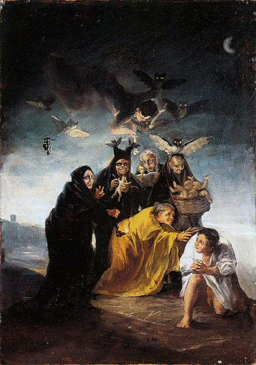 goya las brujas samenzwering