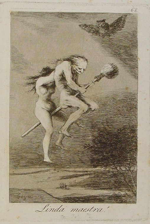 Goya Linda maestra