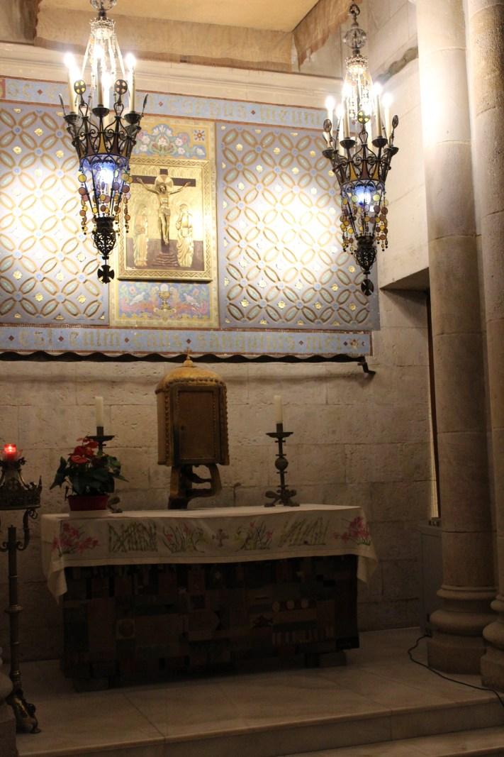 Altaar lampen van Gaudi