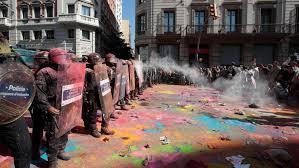 Barcelona is boos