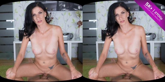 Czech VR Casting 125 - Hot Aria on VR Casting Aria Rossi vr porn