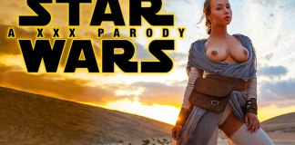 Star Wars A XXX Parody Taylor Sands