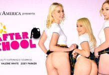 """After School"" featuring Chloe Cherry, Zoe Parker, and Valerie White"