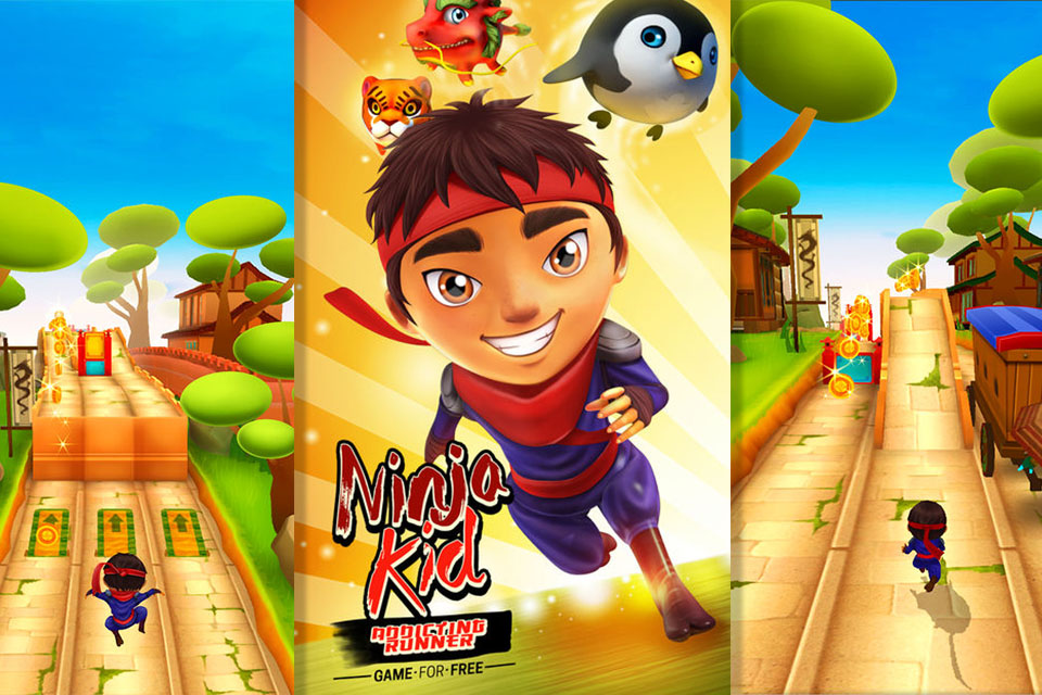 ninja kid run vr runner racing vr game review free vr headset