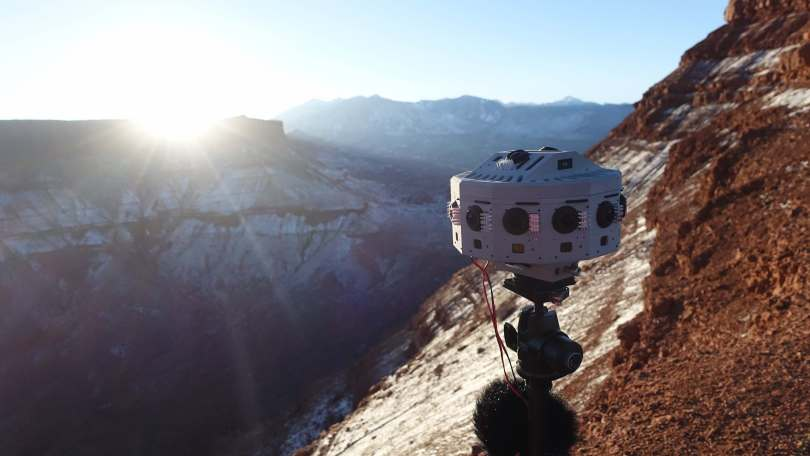 Jaunt VR northface 360 Camera