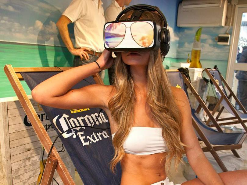 Corona Oculus Rift Beach VR Swimsuit Model