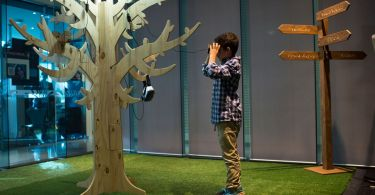 AMP Shopping Center Virtual Voyage VR