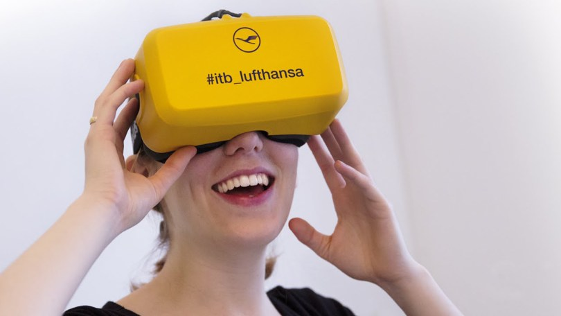 Lufthansa Virtual Reality VR Oculus