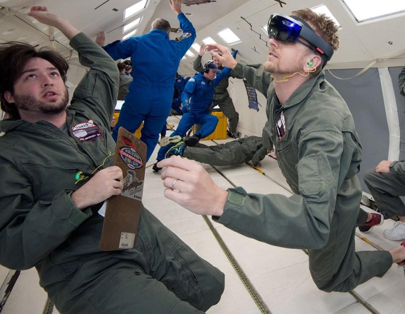 NASA Microsoft HoloLens AR