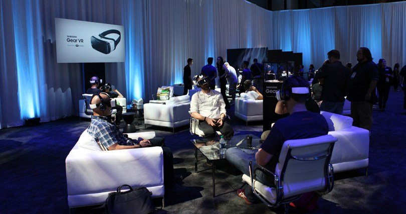 Oculus Connect 2 Gear VR Lounge