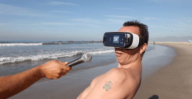 Virtual Reality Surfing Specular Theory
