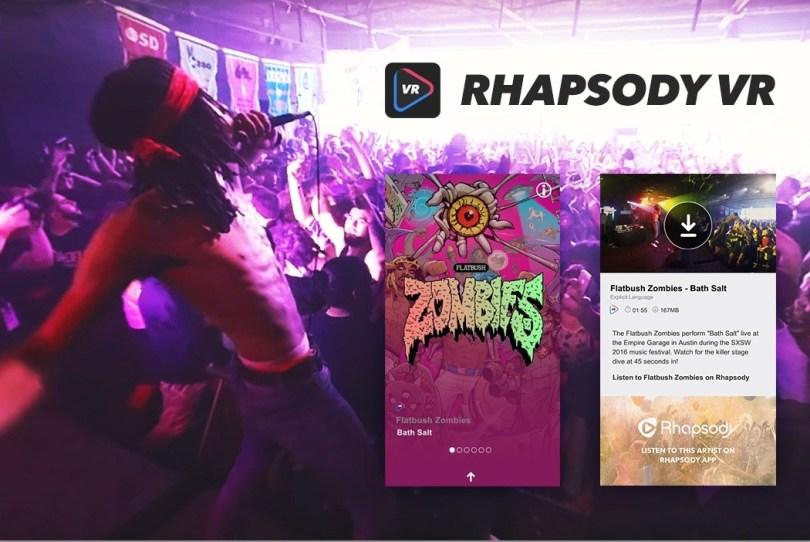 Rhapsody-VR-app