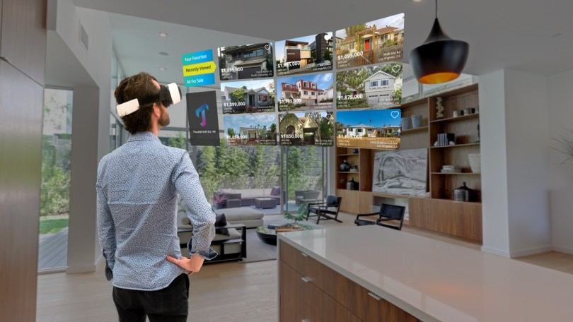 virtual reality real estate app