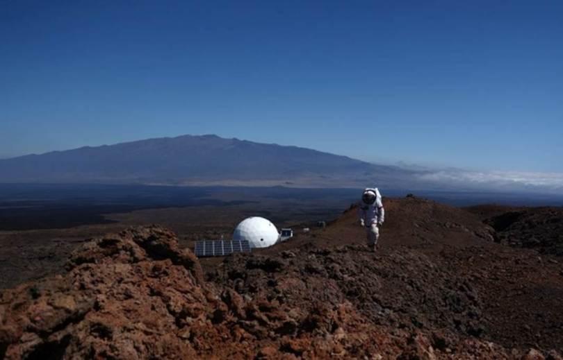 NASA virtual reality communication