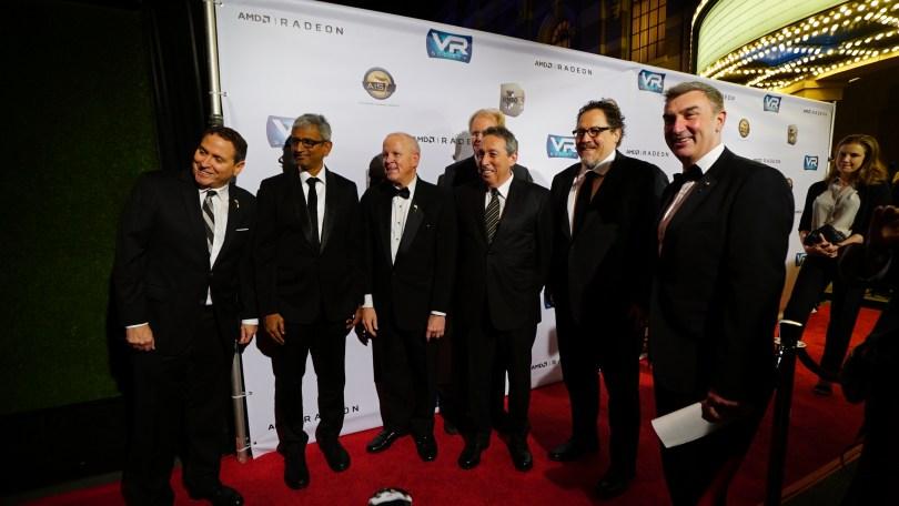 Jon Favreau VR Lumiere Awards