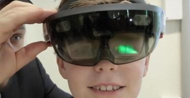 Norway Schoolchildren HoloLens Lesson