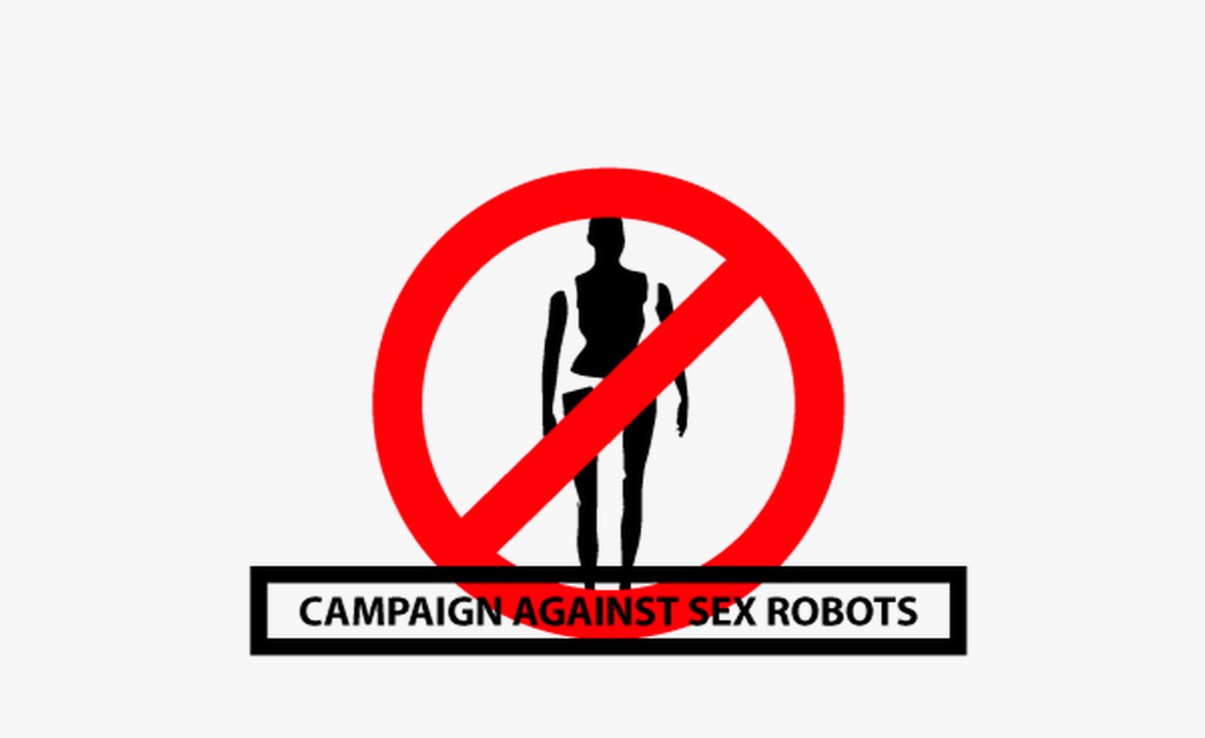 Campaign against sex robots Logo