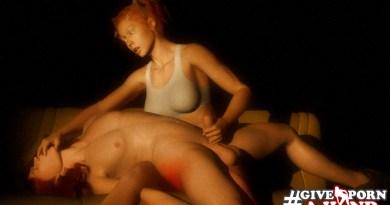 Girl masturbating a boy