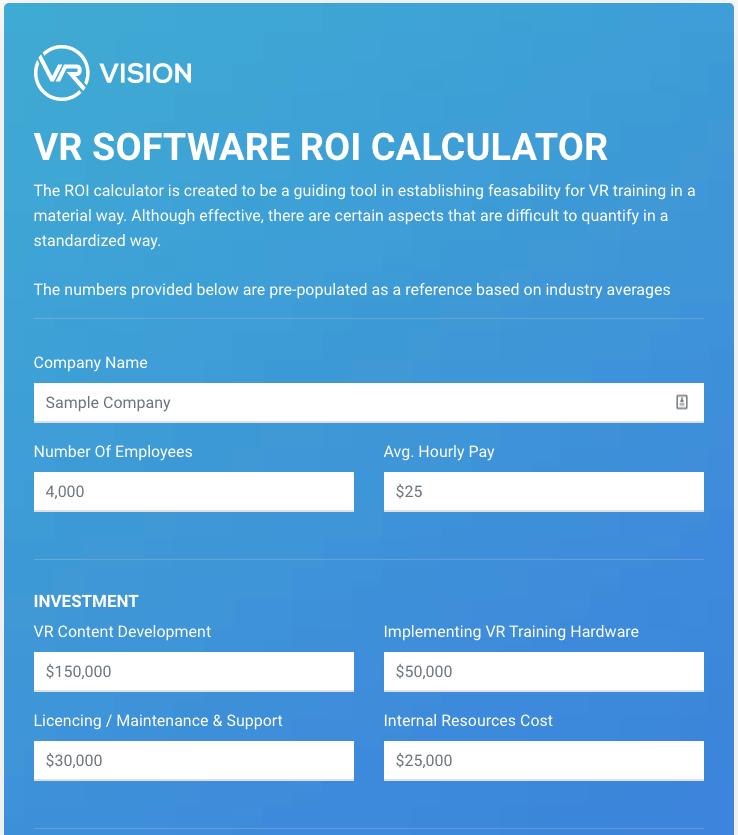 vrv-roi-calculator