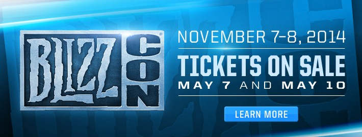 Blizzcon 2014 Dates Announcement
