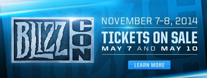 Blizzcon 2014 Dates Announcement