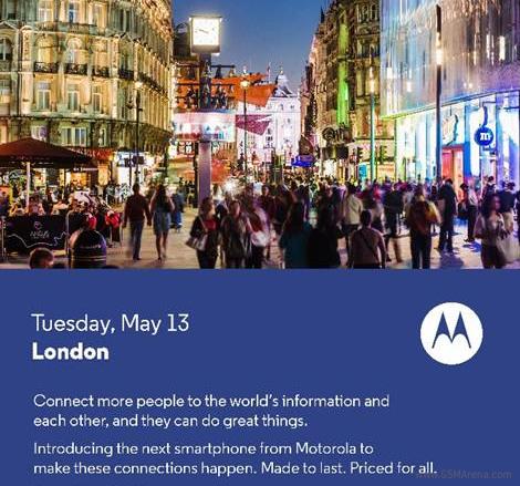 Motorola Launch Invitation