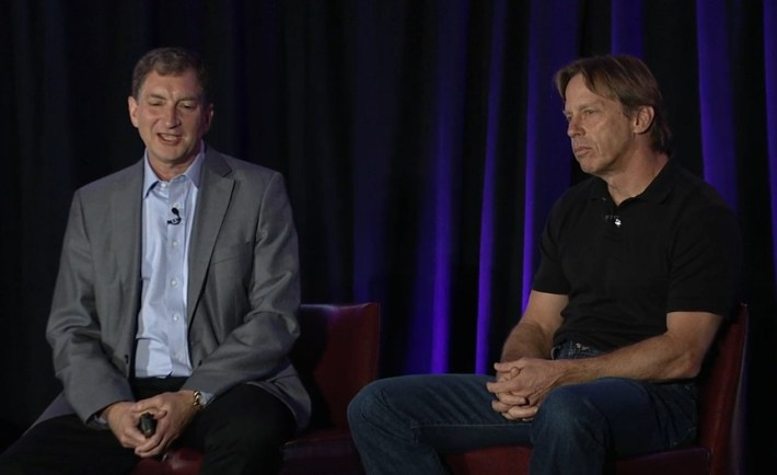 Mark Papermaster and Jim Keller discuss the future of AMD.