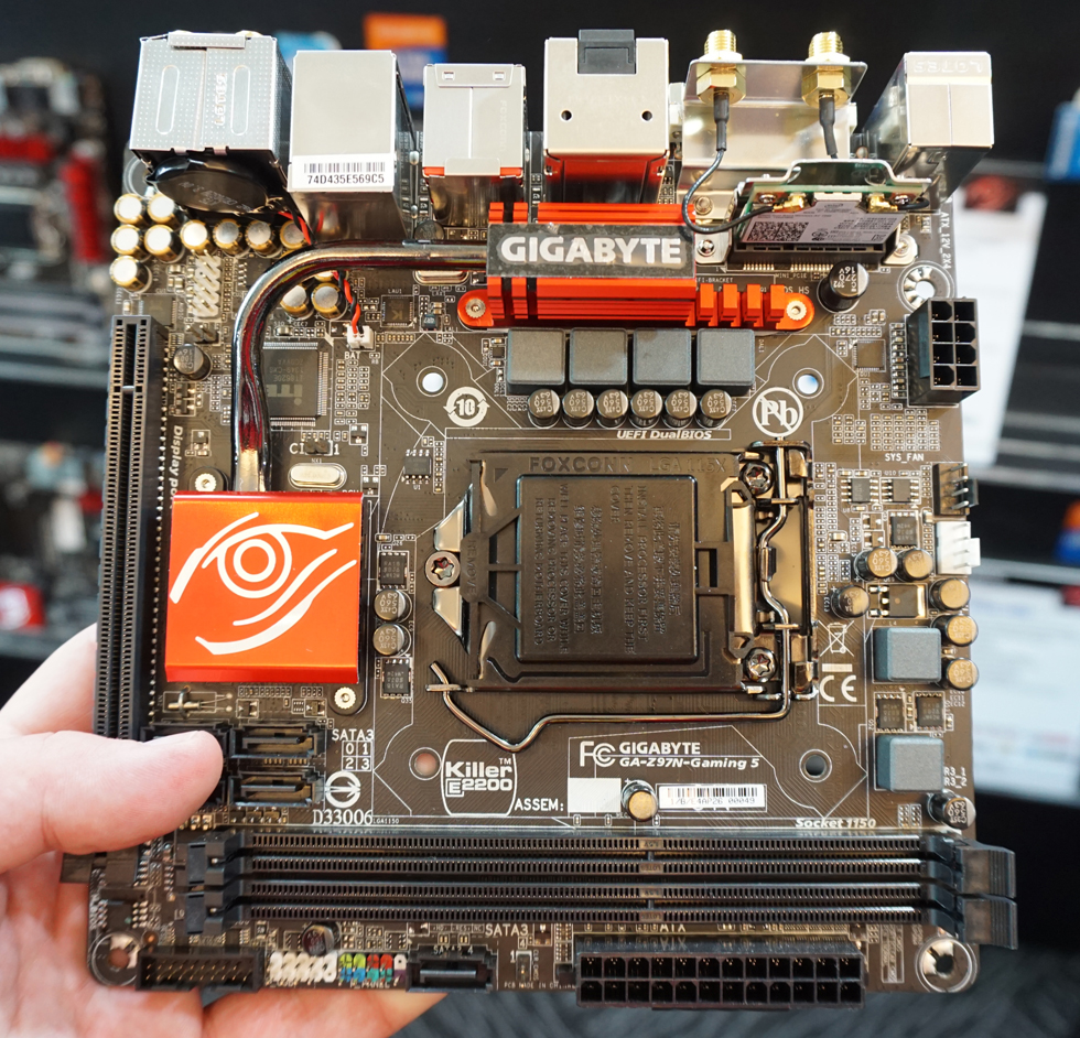 Gigabyte Z97 Mini-ITX Board