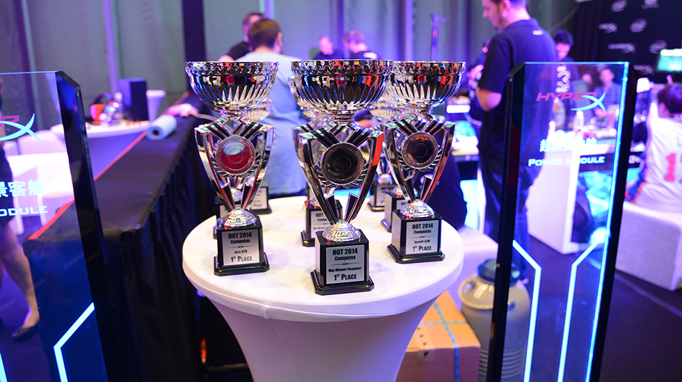 HyperX OC Takeover Trophies