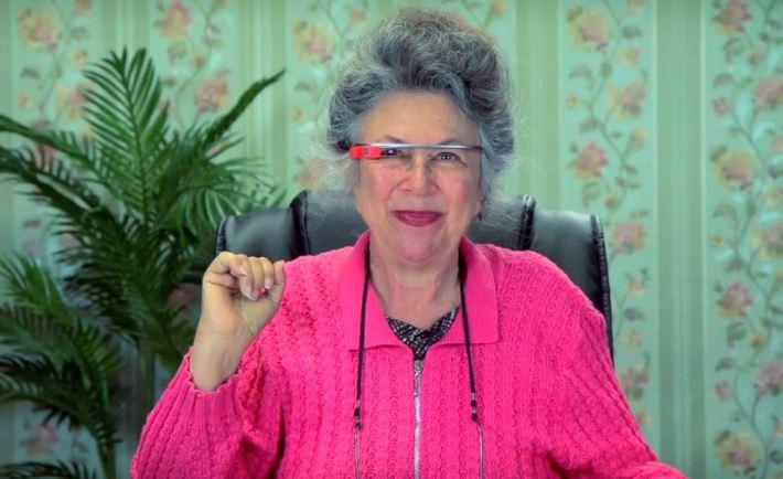 Google Glass Grandma