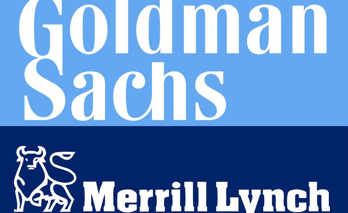 Goldman Sachs Merrill Lynch