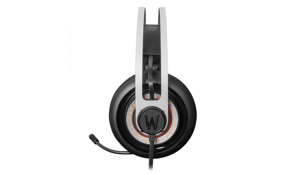 WoW Headset Side - Siberia Elite World of Warcraft Edition