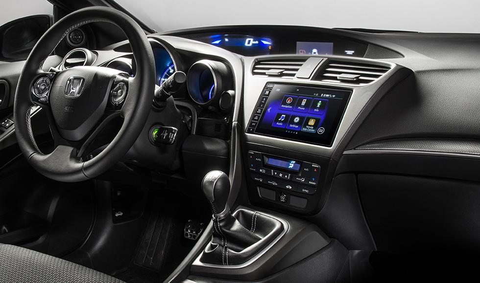2015 Honda Civic with Honda Connect