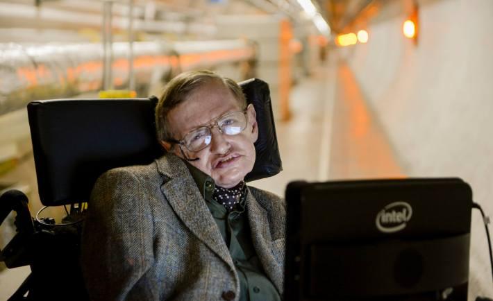 Stephen Hawking Title