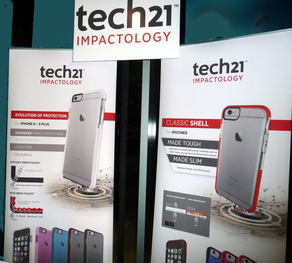 We learned of Tech21's amazing mobile device protection at Pepcom 2014