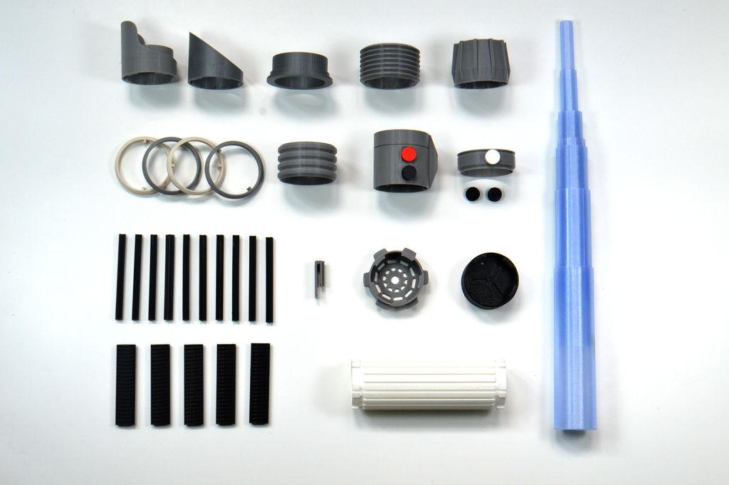 3D Printed Lightsaber - 2