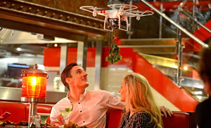 TGI Fridays' Mistletoe Drone - 6