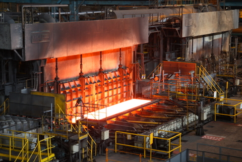 biggest steel plant in the world