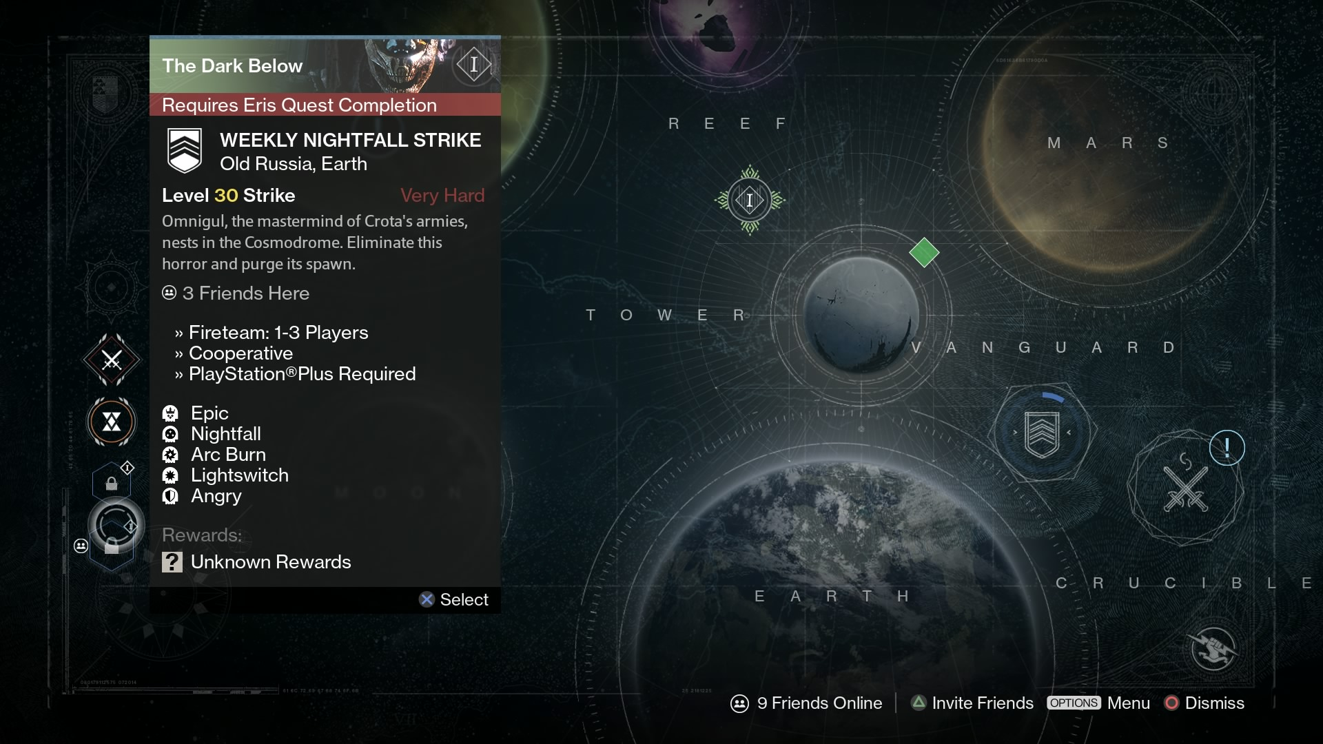 When the Dark Below DLC launched, it locked out all non-DLC players from participating in Weekly Nightfall or Heroic Strikes, denying access to a big portion of the game's endgame content.